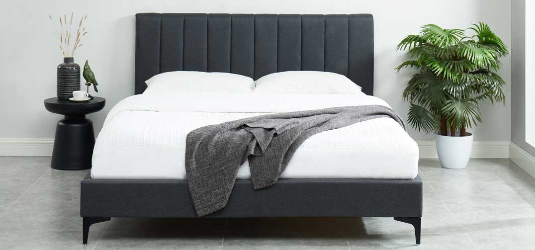 Orka Bed Frame Charcoal