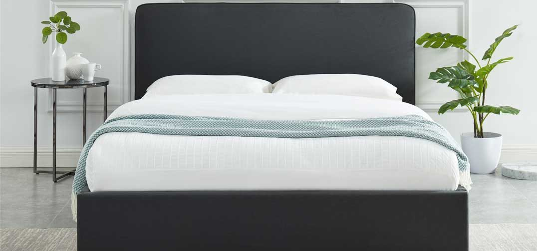 Rio Bed Frame Charcoal