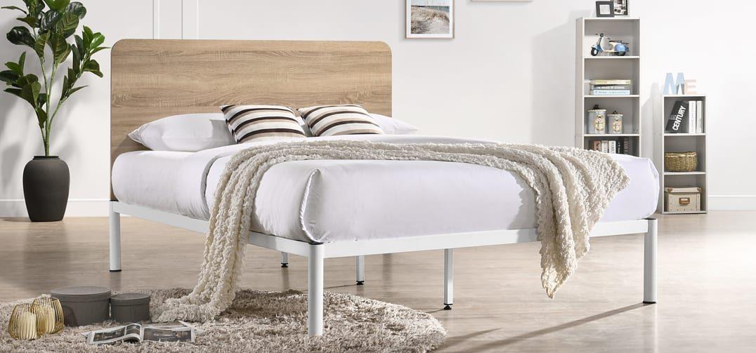 Yoona Bed Frame - White